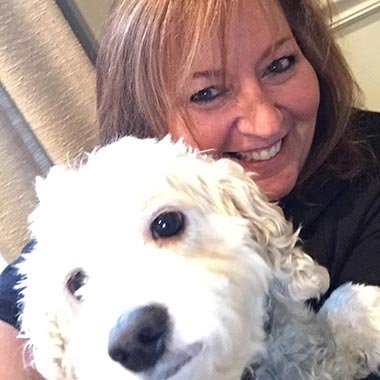 Susan and her dog