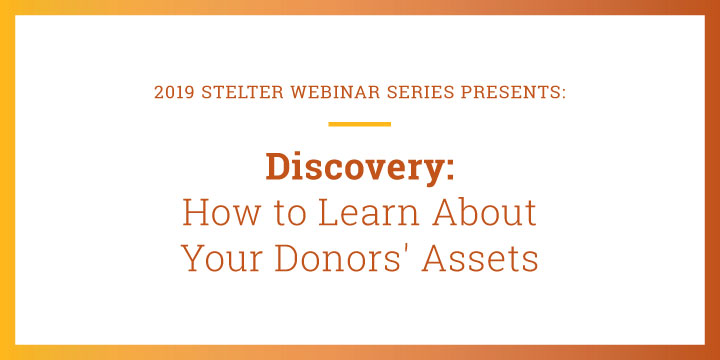 Discovery: How to Learn About Your Donor's Assets