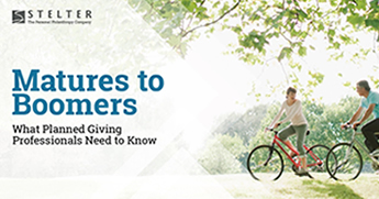 Matures to Boomers: What Planned Giving Professionals Need to Know