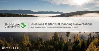 Questions to Start Gift Planning Conversations