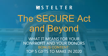 The SECURE Act and Beyond: What It Means for Charitable Giving