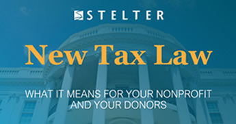 New Tax Law: What It Means for Your Nonprofit and Your Donors