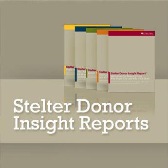 Stelter Donor Insight Reports