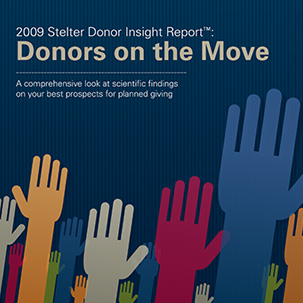 2009 Stelter Donor Insight Report - Donors on the Move
